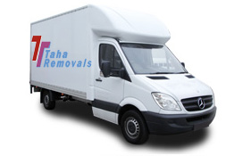 luton van with a man London