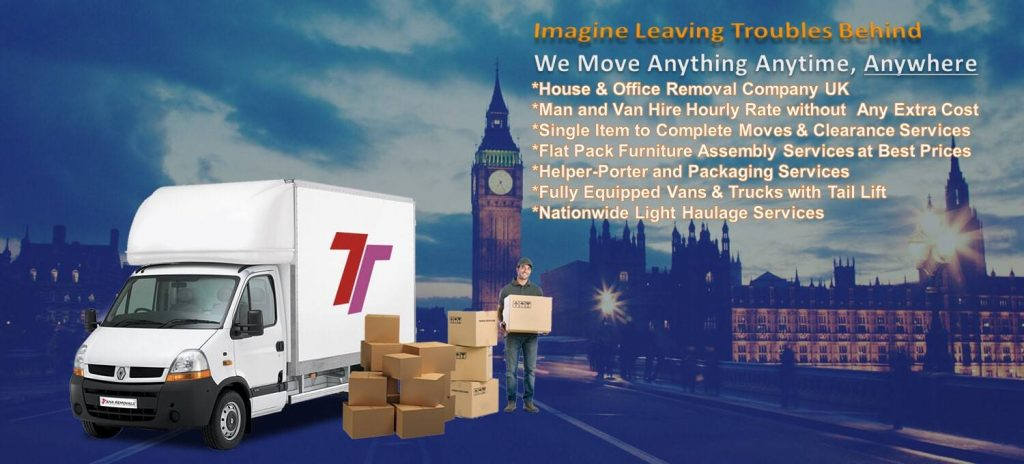 man and van Guildford removals